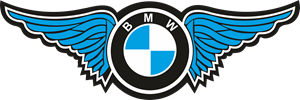 BMW with Wings Logo Vector