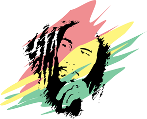 bob marley logo vector cdr free download rh seeklogo com bob marley colors meaning bob marley looking in your big brown eyes