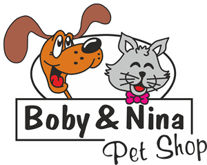 BOBY & NINA PET SHOP Logo Vector