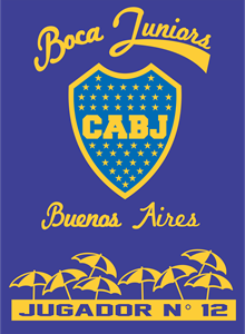 boca juniors 12 Logo Vector