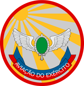 Bolacha da Aviação do Exército Logo Vector