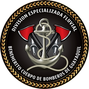 Bomberos Guayaquil Division Fluvial Logo Vector
