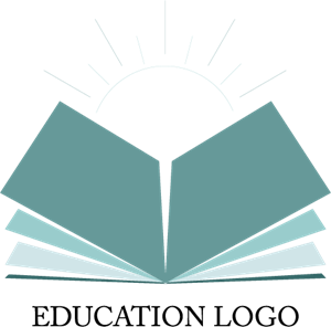 Book Sun Education Logo Vector