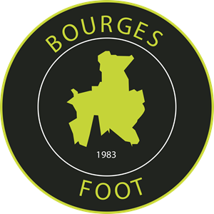 Bourges Foot Logo Vector