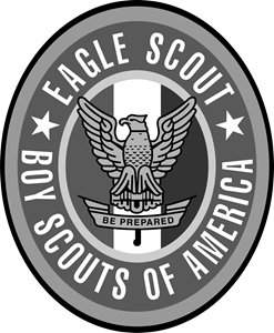 Boy Scouts Eagle Scout Logo Vector
