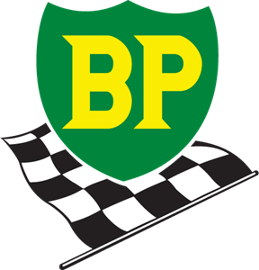 BP & Flag Logo Vector