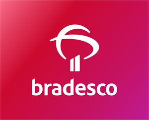 Bradesco (com degradê) Logo Vector