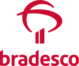 Bradesco Vertical Logo Vector