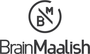 Brain Maalish Logo Vector