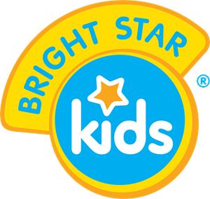 Bright Star Kids Logo Vector