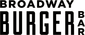 Broadway Burger Bar Logo Vector