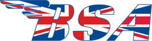 BSA Union Jack Logo Vector