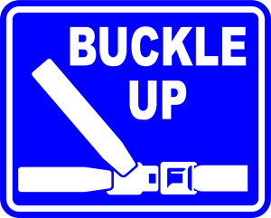 buckle-up Logo Vector