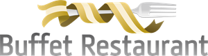 BUFFET RESTAURANT CUSTOM Logo Vector