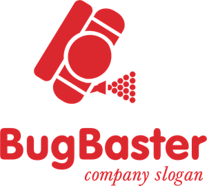 Bug Cleaning Company Logo Vector