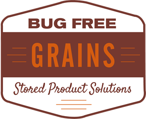 Bug Free Grains Stored Product Solutions Logo Vector