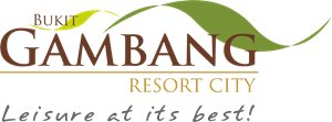 Bukit Gambang Resort City Logo Vector