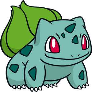 Bulbasaur Logo Vector