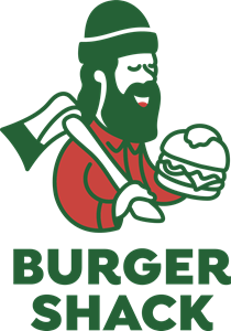 Burger Shack Logo Vector