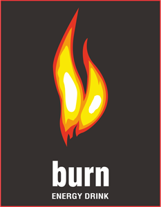 BURN ENERGY DRINK Logo Vector