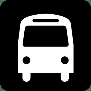 bus stop symbol logo vector eps free download