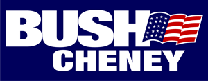 Bush Cheney 2000 campaign Logo Vector