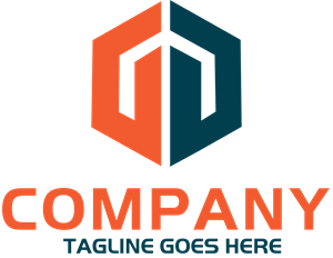 Business Company Shape Logo Vector