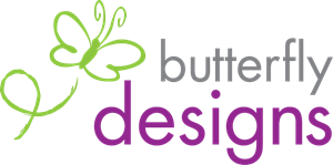 butterfly designs Logo Vector