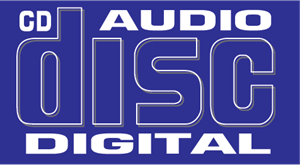 CD Digital Audio Logo Vector