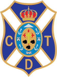 CD Tenerife Logo Vector