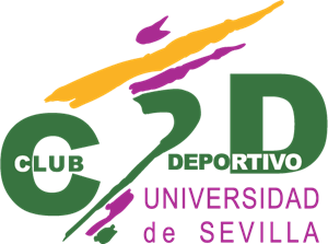CD Universidad de Sevilla Logo Vector
