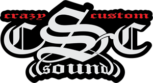 CSC CRAIZY SOUND CUSTOM Logo Vector
