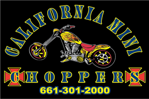 California Mini Choppers Logo Vector