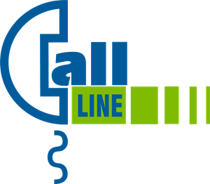 Call Line Logo Vector