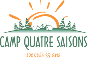 Camp Quatre Saisons Logo Vector
