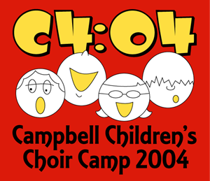 Campbell Children's Choir Camp (C4) Logo Vector