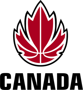 Canadian Basketball Logo Vector