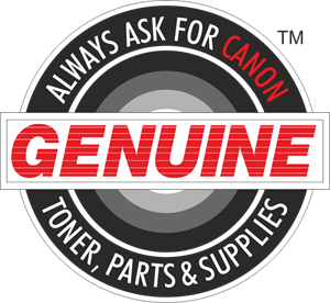Canon Genuine Supplies Logo Vector