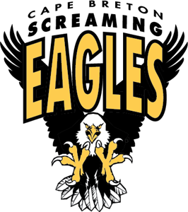 Cape Breton Screaming Eagles Logo Vector