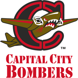 Capital City Bombers Logo Vector