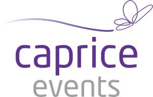 Caprice Events Logo Vector
