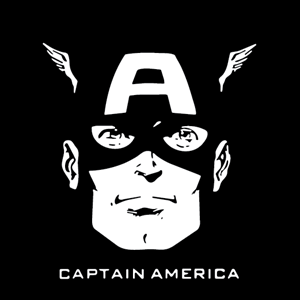 Captain America Logo Vector
