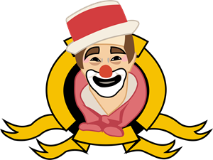 Carequinha Clown Tribute Logo Vector