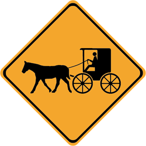 Carriage Crossing Logo Vector