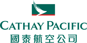 Cathay Pacific Bilingual Logo Vector