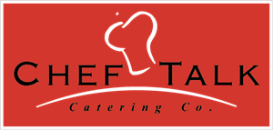 Chef Talk Catering Co Logo Vector