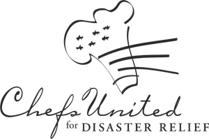 Chefs United for Disaster Relief Logo Vector