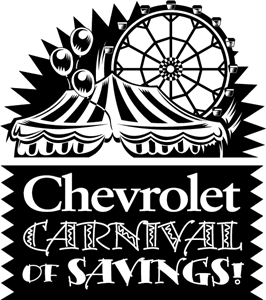 Chevrolet Carnival of Savings Logo Vector