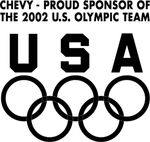 Chevy - Sponsor of Olympic Team Logo Vector