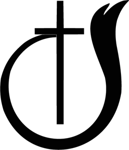 Church Of God BW Symbol Logo Vector